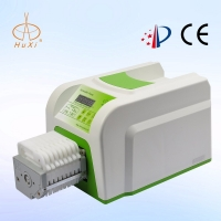 8 channel digital LED  high Precision  Flow Rate Peristaltic Tubing 5v  Pump