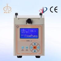 LCD English flow set double channel high Precision digital Flow Rate Peristaltic Tubing 5v Pump
